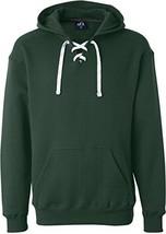 Forest Hockey Hood Sweatshirt: 80% Ringspun Cotton, 20% Polyester Fleece... - $25.05