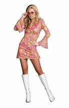 Dreamgirl Go Go Gorgeous 70s Groovy Retro Adult Womens Halloween Costume... - $37.83+