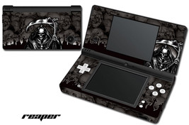 Skin Decal Wrap for Nintendo DSI Gaming Handheld Sticker REAPER BLACK - $13.81
