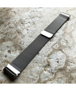Modern Silver Color Adjustable Milanese Loop Mesh Band Strap for Fitbit ... - $39.00