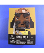 Mega Blocks Kubros Worf Star Trek The Next Generation - New, Sealed - $11.52