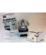Cuisinart Black Chrome Mini Prep Chopper Grinder Food Processor DLC-1SS  - $32.42