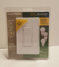 Lutron CL dimmer DIVA CL DVCL-153PH White New Sealed - $20.00