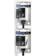 2 Count Kobalt 0777736 1 3/4 In Bi Metal Hole Saw Includes Pilot Drill  - $19.99