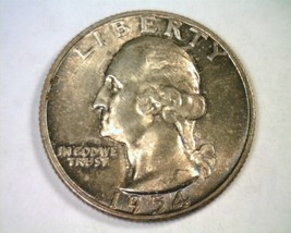 1954 WASHINGTON QUARTER SUPER COLOR CHOICE / GEM UNCIRCULATED CH. / GEM ... - $85.00