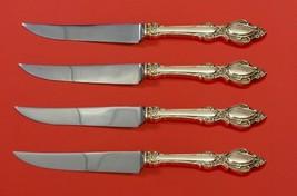 "Lasting Grace by  Lunt Sterling Silver Steak Knife Set 4pc HHWS  Custom 8 1/2"" - $247.10"