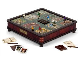 Winning Solutions Clue Luxury Edition Board Game by with Gold Foil-Stamp... - $352.31