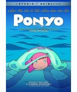 Ponyo (2008) DVD Hayao Miyazaki Anime Cate Blanchett, Matt Damon New - $13.95