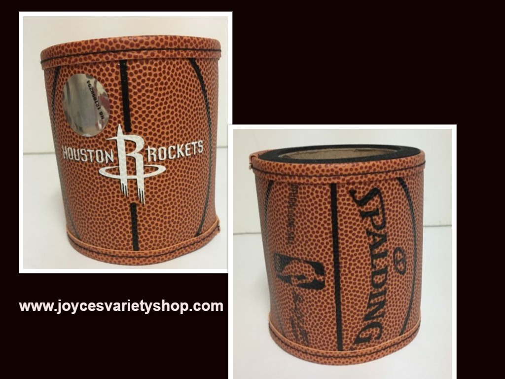 Houston rockets can koozie web collage