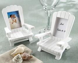 inch Beach Memories inch   Miniature Adirondack Chair Place Card/Photo ... - $20.99