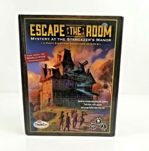ESCAPE THE ROOM Mystery at The Stargazer's Manor Board Game Think Fun Op... - $9.99
