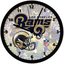 "Los Angeles Rams LOGO Homemade 8"" NFL Wall Clock w/ Battery Included - $23.97"