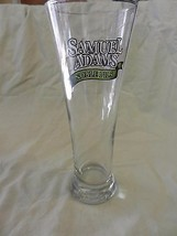 Samuel Adams Noble Pils Flute Style Beer Glass with logos - $19.80