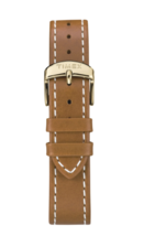 TIMEX Women's Gold Tone New England Leather Strap Wrist Watch CLASSIC TW2R23000 image 4