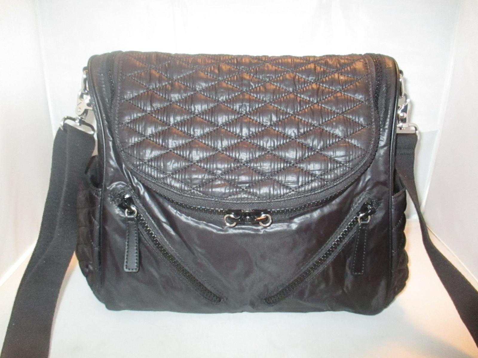 c4919984355 Rebecca Minkoff Jude Quilted Nylon Baby Diaper Bag ( Shoulder Bag )  295  Black
