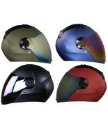 Steelbird Air SBA-2 Matt Desert Storm Helmet for Motorbike + additional ... - $95.99