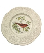 Royal Cauldon Aviary Plate Summer Tanager Henry A Pausch Bird Collector ... - $26.64
