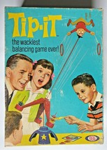 TIP-IT The Wackiest Balancing Game Ever Vintage 1965 Ideal Toy Corp In Box - $29.99