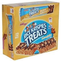 KELLOGGS RICE KRISPIES TREATS BUTTERY TOFFEE (Big) BAR 2.5 oz Each ( 12 ... - $30.06