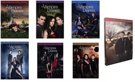 The Vampire Diaries Season 1-6 Complete DVD Set Collection Series TV Sho... - $98.99