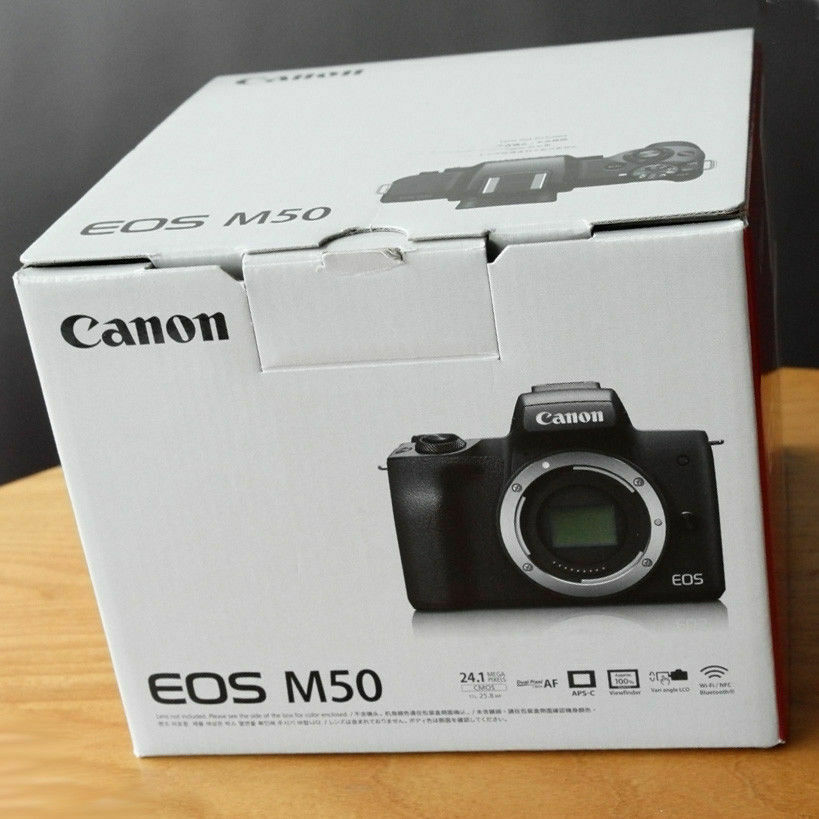 Canon EOS M50 Digital Camera with 15-45mm lens Black Kit