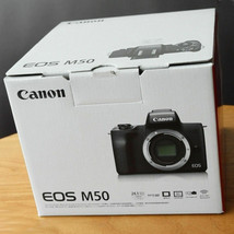 Canon EOS M50 Digital Camera with 15-45mm lens Black Kit image 1