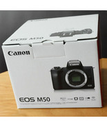 Canon EOS M50 Digital Camera with 15-45mm lens Black Kit - $629.00