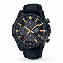 Casio Edifice Solar EQS900CL-1AV Carbon Dial Chronograph Watch - $138.59