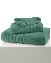 New Hotel Collection Ultimate MicroCotton Bath Towel Solid Jade Green 30... - $19.55