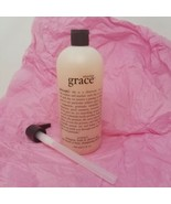 PHILOSOPHY (AMAZING GRACE) SHAMPOO BATH SHOWER GEL w/ Pump 32 OZ NEW OLD... - $49.99