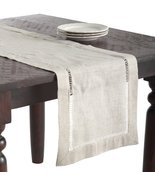 SARO LIFESTYLE 731 1-Piece Toscana Runners Oblong Tablecloth, 16 by 90-I... - $27.32