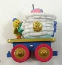 Hallmark Keepsake Ornament Colorful Coal Car Cottontail Express Easter - $6.99