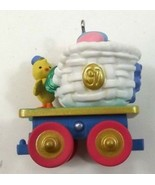 Hallmark Keepsake Ornament Colorful Coal Car Cottontail Express Easter - $6.99