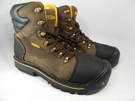 "Keen Milwaukee 6"" Sz 12 2E WIDE EU 46 Men's Steel Toe Work Boots Shoes 1007976EE"