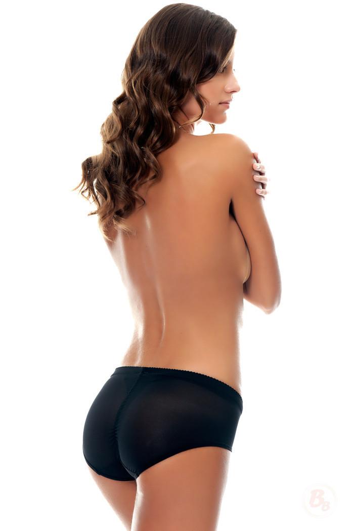 Sheer Booty-Lift Lowrise Bikini Panty from Bubbles Bodywear - $18.00