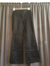 WOMENS NEW YORK & COMPANY COTTON SPANDEX BLACK DRESS PANTS SIZE 2 TALL 3... - $7.12