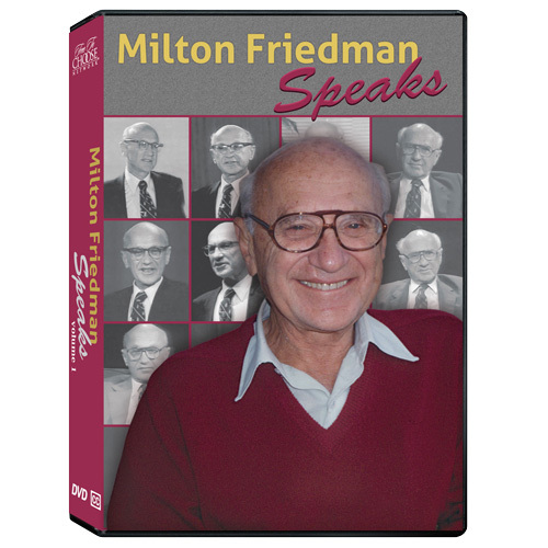 Milton Friedman Speaks: Complete 15-Part Lecture Series with Q&As