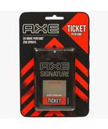 NEW AXE Signature Intense Ticket Body Perfume Easy to Carry 250 Sprays P... - $5.91