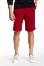 Dockers Solid Rolled Short, Red, 38 - $34.64