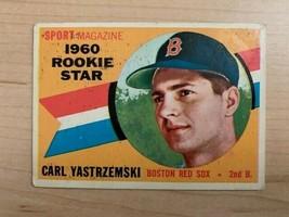 1960 Carl Yastrzemski Topps Rookie All-Star Baseball Card #148 (Original) - $88.11