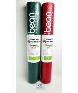 """(2 x) Bean Products Kid's Clean PVC Sticky Yoga Mat 24"""" x 60"""", Red, Gree... - $29.65"""