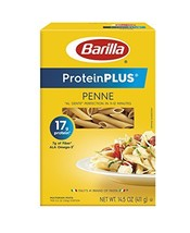 Barilla ProteinPlus Multigrain Pasta, Penne, 14.5 Ounce Pack of 12 - $23.86