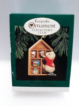 Collecting Memories Keepsake of Membership Ornament Hallmark 1995  - $11.09