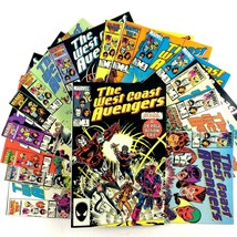 West Coast Avengers 15 Comic Book Lot Run 1 2 3 4 5 6 7 8 9 10 11 12 13 14 15  - $39.55