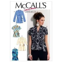 McCall's Patterns M6564 Misses' Tops, Size A5 (6-8-10-12-14) - $13.85