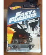 2017 Hot Wheels Fast & Furious 1970 Plymouth Road Runner  3/8 - $3.25