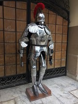 15th Century Superior Style  German Gothic Full Suit Of Armor Halloween Costume - $999.00