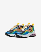 NIKE AIR MAX 270 REACT GRADE SCHOOL US SIZE 5 Y STYLE # CU4668-001 - $133.65