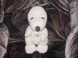 50th Snoopy Celebration Jointed Plush Toy With Tags 1999 Hasbro - $49.49