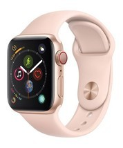 Apple Watch Series 4 GPS+CELL 40mm Gold Aluminum  Pink Sand Sport White Box - $339.95